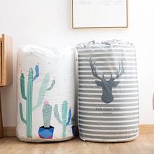 Портативные мешки для хранения одежды, круглые одеяла, сумка на шнурке, органайзер для постельных принадлежностей, экономия пространства, шкаф для хранения