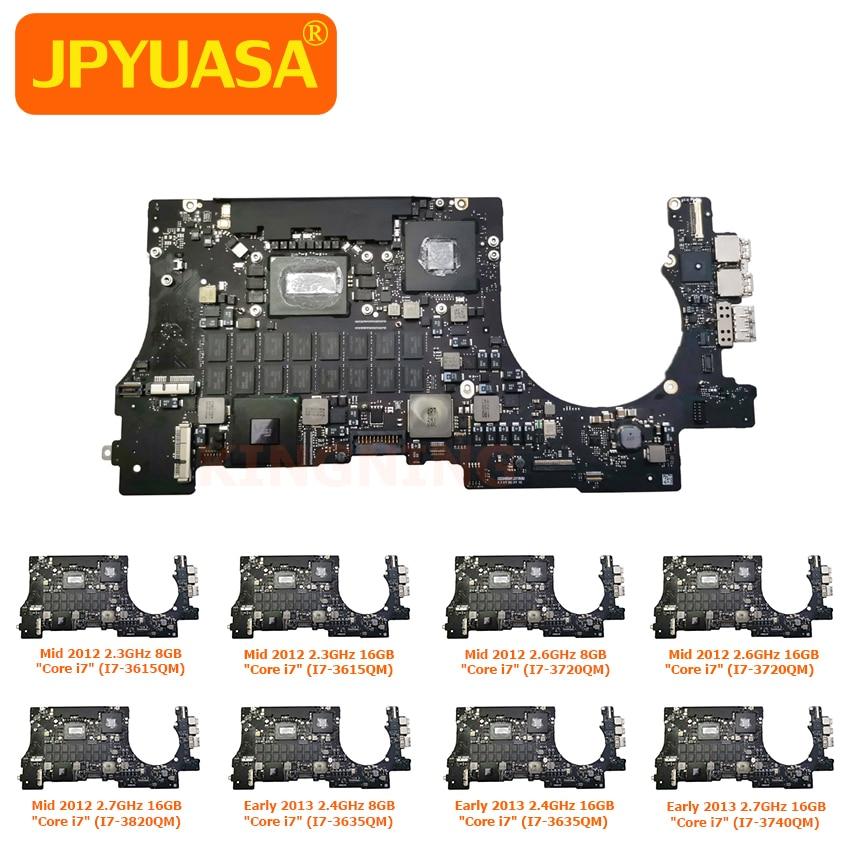 Оригинальная материнская плата 8 ГБ 16 ГБ для Macbook Pro Retina 15