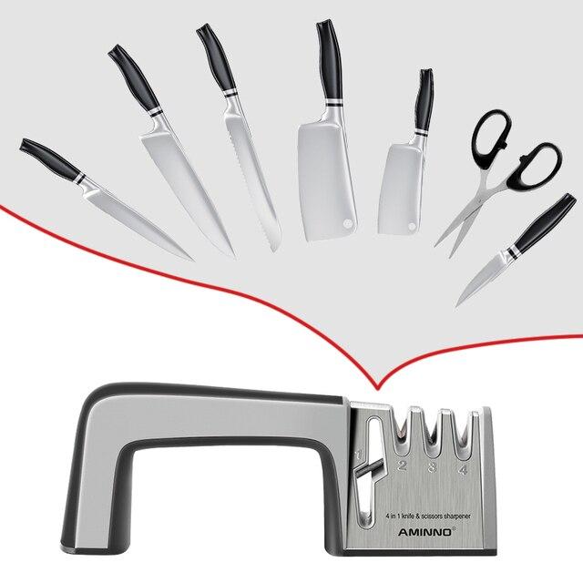 Aminno用ナイフ石多機能プロセットナイフ研ぎはさみknive