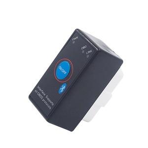 Image 3 - סופר מיני ELM327 Bluetooth ELM 327 כוח מתג V2.1 על/כיבוי לחצן OBD2 רכב אבחון כלי רב שפות עבור OBDII פרוטוקולי