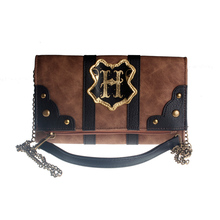 Square Bag Suitcase Trunk Folding Clutch Small Inspired Wallet Ladies DFT8006