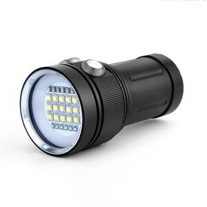 Image 3 - Профессиональсветильник вспышка для дайвинга с 15 светодиодными лампами для подводной съемки