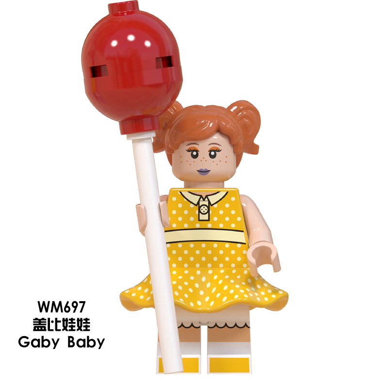 Image 3 - Disney Toy Story4 Movie Characters Action Figure Buzz Lightyear Alien Bonnie Woody Jessie Ducky Duke Caboom Building Blocks Kid-in Action & Toy Figures from Toys & Hobbies
