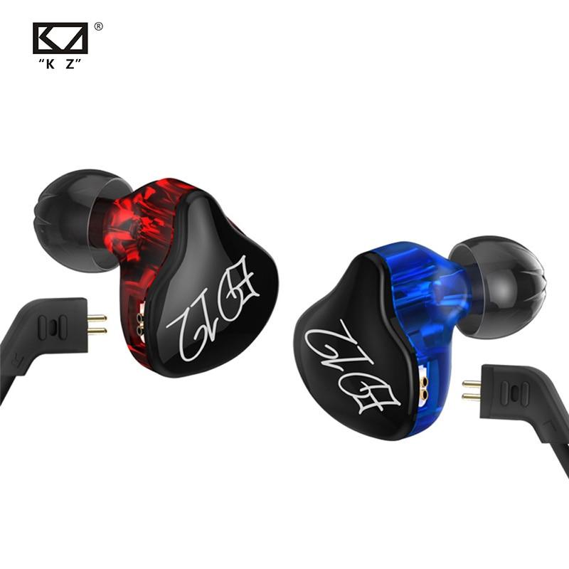 Плотным верхним ворсом KZ ED12 пользовательские Стиль наушников съемный кабель В Ухо Аудио мониторы Шум изоляции с функцией подачи Хай-Фай муз...