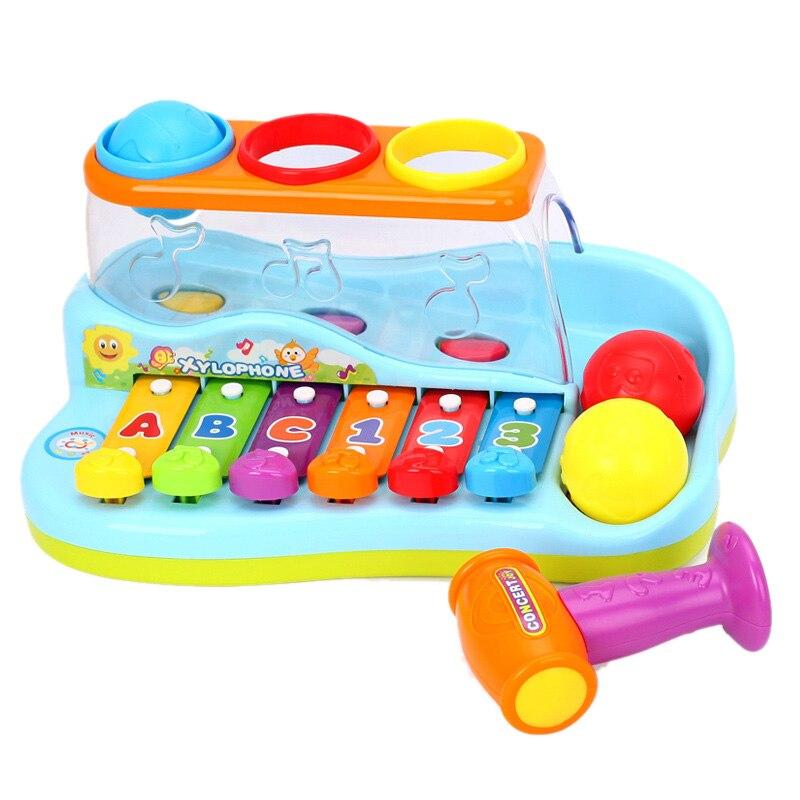 piano, melhor presente da criança, brinquedo para 1-3 anos de idade