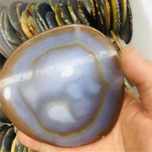 12cm natural crystal agate pieces for home decoration 1pc