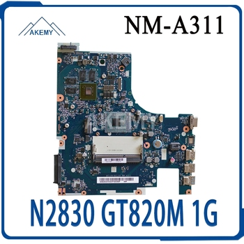 For Lenovo ACLU9 / ACLU0 NM-A311 motherboard For Lenovo G50-30 notebook motherboard CPU N2830 GT820M 1G DDR3 100% test work