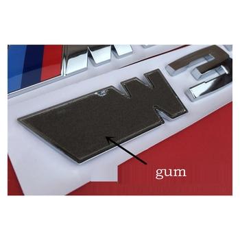 цена на Car Sticker Styling ABS Material Fuel Emissions for BMW E46 M50d X3 X4 X5 X6 E46 E30 E28 E90 E60 E39 E36 F30 Auto Accessories