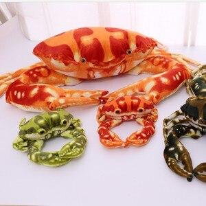 1 шт. прекрасный морской Краб плюшевые игрушки Мягкий Краб чучело куклы подушки подарки для детей