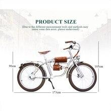 Vélo électrique rétro et Vintage, 24x500, 3.0 W