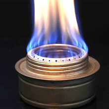Outdoor camping stove Copper Alloy  Mini Ultra-light portable solid alcohol vaporized liquid