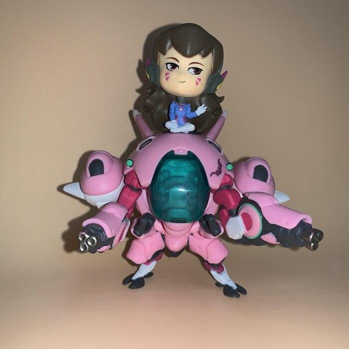 13cm Overwatch Dva D.Va Action Figure Toys Game Doll Gift 1