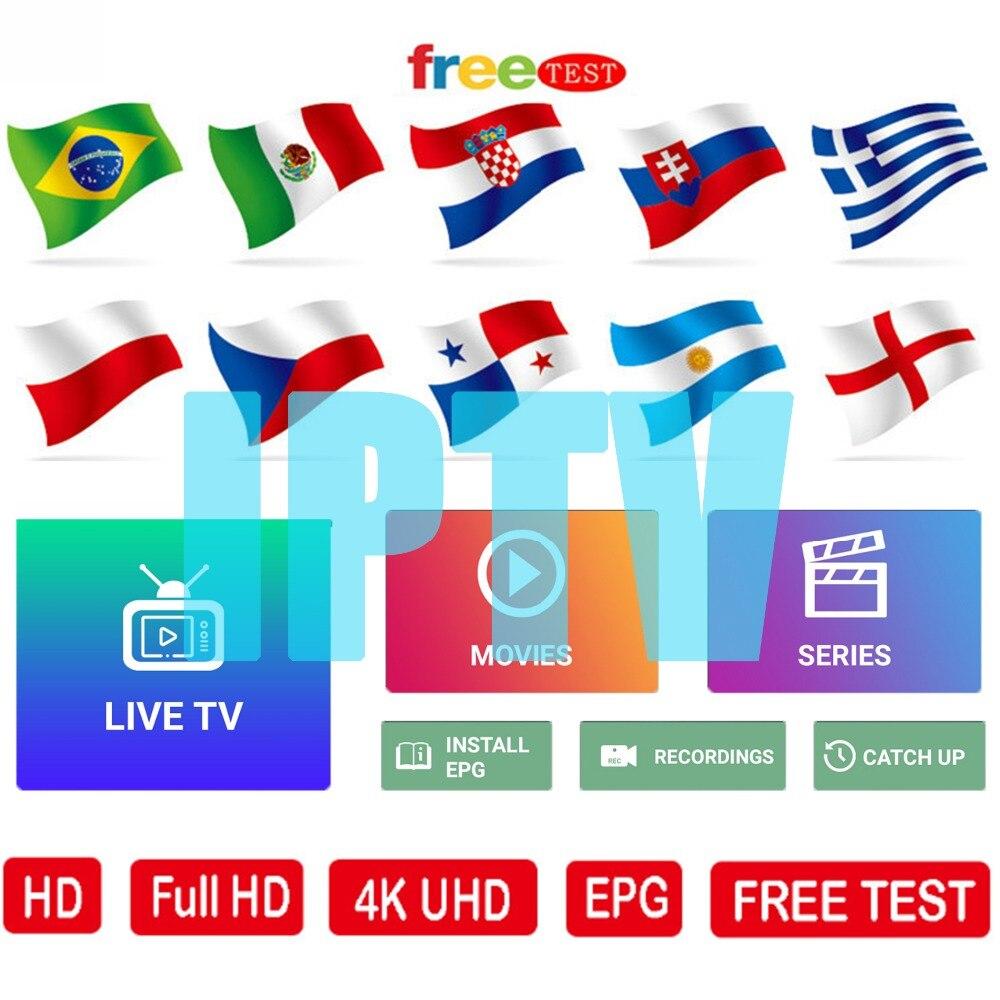 World IPTV 1 Year Iptv Subscription Europe Iptv Portugal Spain France Italy USA Dutch Iptv M3u For Smart TV Android Box X96 Mini