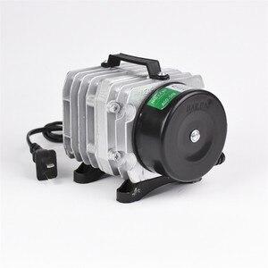 Image 2 - NEW Aquarium electromagnetic air compressor 70L/min 45W fish tank air pump increasing oxygen pump HAILEA ACO 318