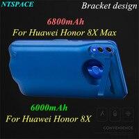 Funda de cargador de batería externa para Huawei honor 8X Max  funda de carga de batería auxiliar portátil para Huawei honor 8X