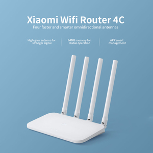Image 4 - Xiaomi Mi WiFi Router 4C 64MB 300Mbps 2.4G 4 Antennas Smart APP Control High Speed Wireless Router WiFi Repeater for Home Office