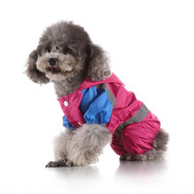 Summer Outdoor Puppy Pet Rain Coat Spring Summer Dog Pet Raincoat Jacket Waterproof Coat For Dogs Clothes(China)