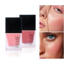 Rosto líquido blush rosto rouge contorno maquiagem de longa duração matte shimmer natural rosto rosto blush highlighter compõem cosméticos