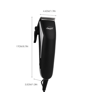 Image 3 - מקצועי בארבר שיער גוזם עוצמה חשמלי שיער גוזז שיער חותך גברים שיער מכונת חיתוך מספריים גזירה מסרק גבול