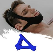 Ceinture triangulaire Anti-ronflement pour homme et femme, accessoire de protection du menton et de la bouche, idéal pour une meilleure respiration