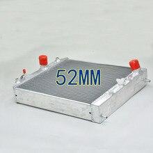 52 мм алюминиевый радиатор подходит для HONDA CIVIC EK4/EK9, EG6/EG9, EM1 B16A VTEC 1992-2000