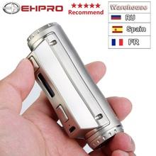 Ehpro zimna stal 100 120W skrzynka TC MOD z 120W maksymalna wydajność i 0 0018S ultraszybka prędkość wypalania ecig vape mod VS drag 2 mini mod tanie tanio Elektryczne Mod -510 Cold Steel 100 39 x 27 5 x 91 5mm Stainless Steel + Brass + Zinc Alloy 0 05-3 0ohm 0 5-8V 5-120W PWR TEMP CURVE VOLT BYPASS