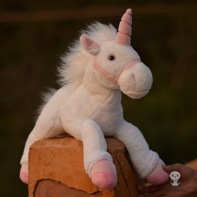Doux jouets en peluche filles cadeaux d'anniversaire mignon en peluche animaux licorne poupées oreiller jouet présent lisse
