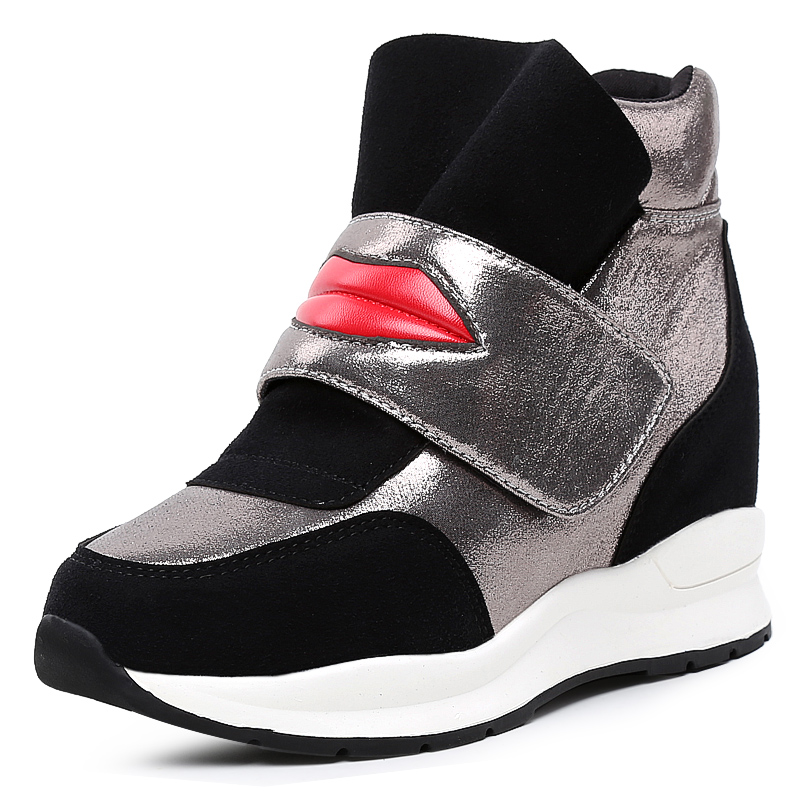 Shoes Woman Women Running Shoes Heighten Shoes Outdoor Comfortable Casual Shoes White Black Shoes Walking Shoes Zapatos De Mujer