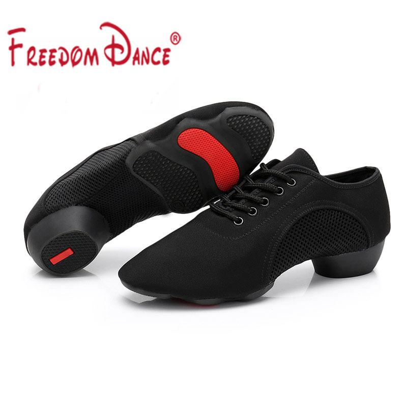 Free Shipping  Leather Dance Shoes Teacher Dance Shoes 3 Colors