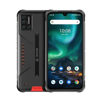 Перейти на Алиэкспресс и купить UMIDIGI BISON IP68/IP69K водонепроницаемый прочный телефон 48MP матрица Quad Camera 6,3 дюймFHD + дисплей 6 ГБ + 128 ГБ NFC Android 10 смартфон
