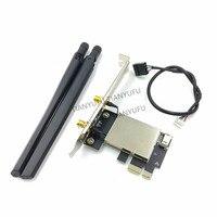 M.2 Wifi Adapter M2 Ngff Schlüssel A-E Zu Pci Express PCI-E 1X NGFF Unterstützung 2230 drahtlose Netzwerk Karte für AX200 9260AC 8260AC NFA344