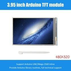 3.95 cal wyświetlacz TFT LCD ekran dotykowy 480X320 CH340G Mega 2560 R3 zarząd na Arduino wymiana ekranu
