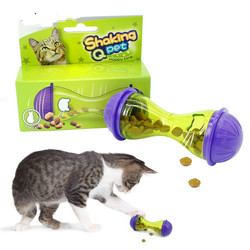 IQ cat treat toy more intelligent interactive kitten ball toys Pet food dispenser puzzle feeder for cats playing training
