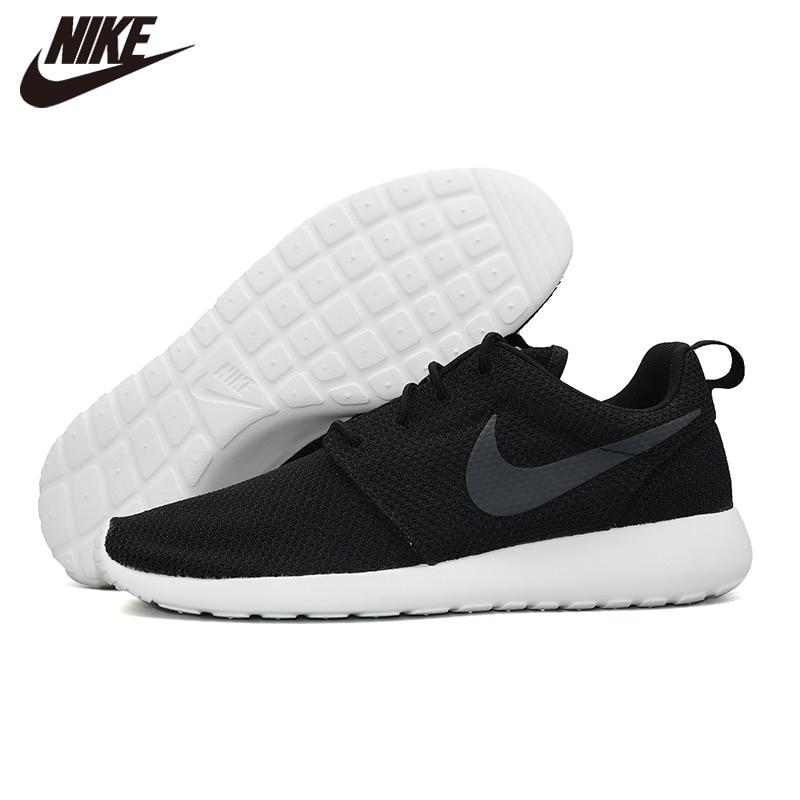 Original NIKE ROSHE RUN Mens Running Outdoor Sports Shoes Comfortable Black Casual Shoes 511881-020