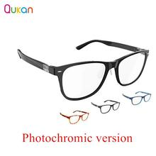 Qukan B1 Detachable Anti blue rays Protective Glass Photochromic Version Eye Protector For Man Woman Play Phone/PC