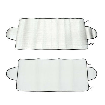 Universal Car Windshield Snow Cover Winter Ice Frost Guard Sunshade Protector Weather Proof Winter Appliances Auto Accessories 2