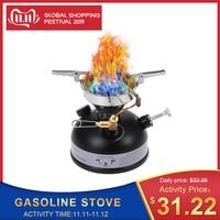 Portable Outdoor Camping stove Mini liquid fuel Gasoline Stove Liquid Fuel Alcohol Diesel Oil Stove kerosene burners