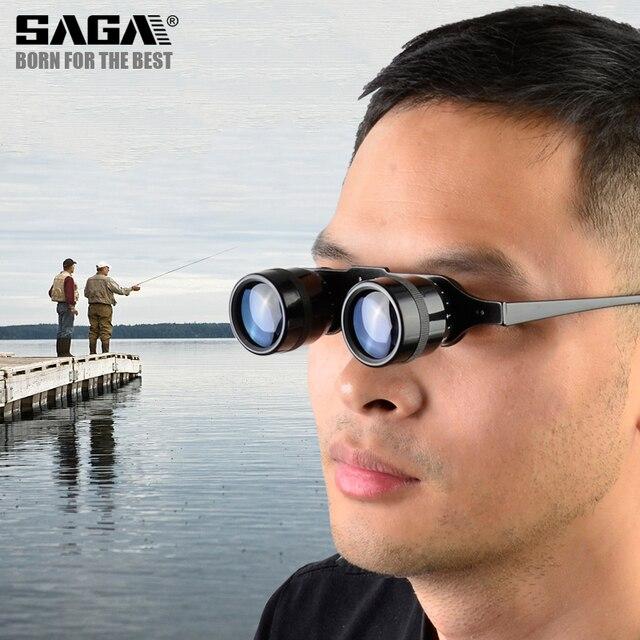 Fishing Binoculars Portable Telescope Zoom Magnifier Night Vision Binocular for Hunting Outdoor Tool 5
