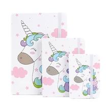 Diary Planner Notebook Office Stationery Printing Kids School Student Cute Kawaii Unicorn