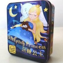 Спящая принцесса детская головоломка игрушка Спящая королева настольная игра Карта родитель-ребенок настольная игра