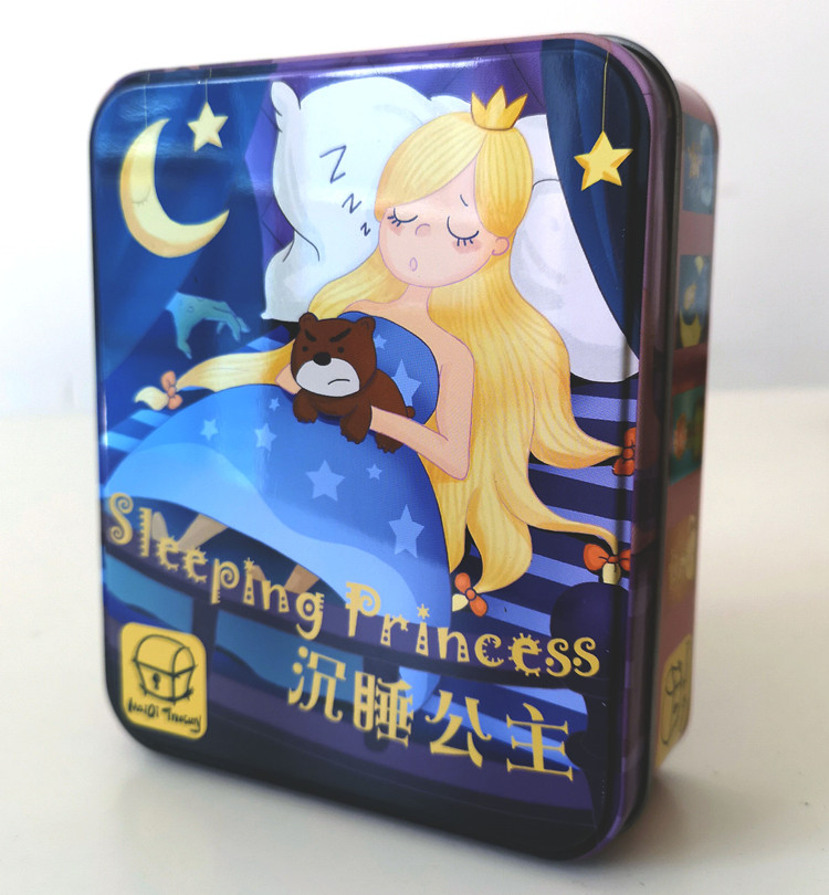 Sleeping Princess Children's Puzzle Toy Sleeping Queen Sleeping Queen's Table Game Card Parent-Child Table Game