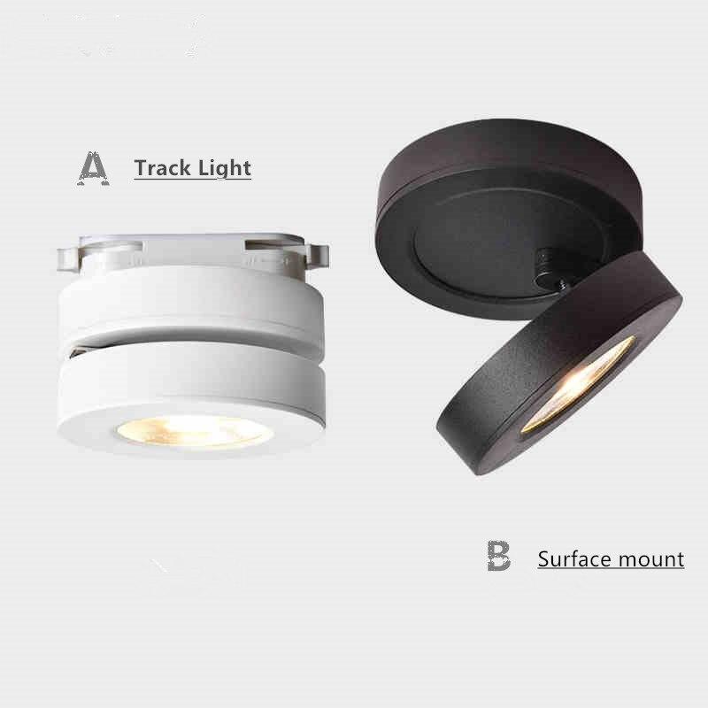 cob levou as luzes do tecto 3w 5w 7w superficie montado lampadas de teto de led