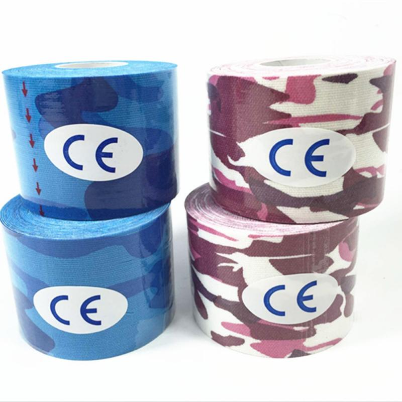 5M*2.5CM Kinesiology Tape Adhesive Sports Muscle Tapes Physio Therapeutic Tape Elastic Bandage Muscle Sticker Sports Safety