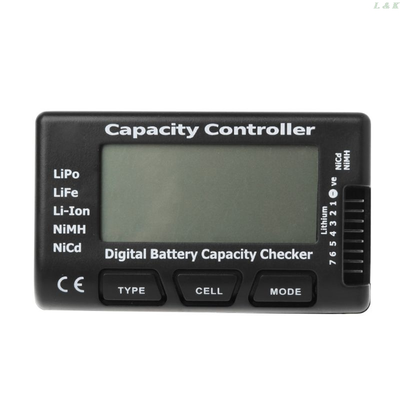 Digital Battery Capacity Checker Rc Cellmeter 7 For Lipo Life Li-ion Nimh Nicd M10 Dropship Durable Service