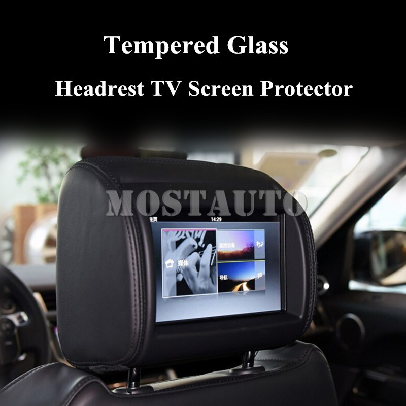 Inner Car Seat Headrest TV Screen Protector For Land Rover Range Rover & Discovery 2pcs