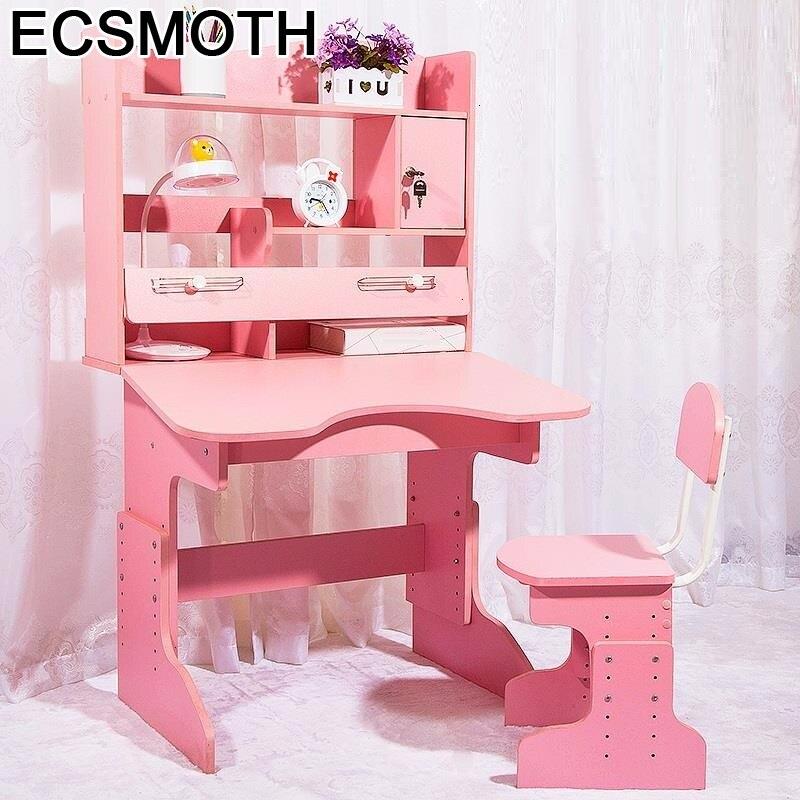 Chair Stolik Dla Dzieci Pour Toddler Enfant Avec Chaise Tavolo Per Bambini Adjustable Mesa Infantil Kinder Study Table For Kids
