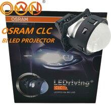 """DLAND الخاصة OSR CLC 3 """"ثنائية جهاز عرض (بروجكتور) ليد عدسة 35W الطاقة BILED صغيرة الجسم مع ممتازة شعاع LEDPES106 BK LHD LEDRING"""