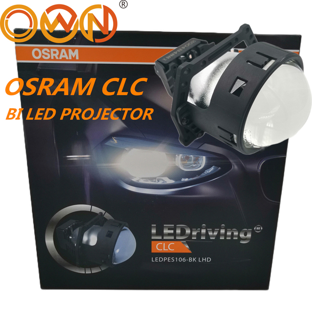 "DLAND OWN OSR CLC 3"" BI LED PROJECTOR LENS 35W POWER BILED SMALL BODY WITH EXCELLENT BEAM LEDPES106 BK LHD LEDRING"