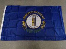 90x150 см флаг штата США Кентукки