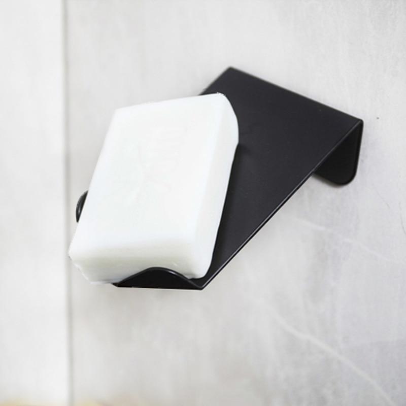 Металл мыло держатель ванная душ мыло ящик для хранения тарелка тарелка лоток держатель ванная бесплатно перфорация слив ящик лоток стена полка